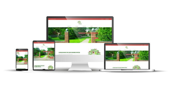 Website ontwerp PAC