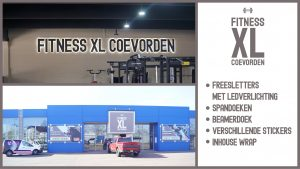 Spandoek_Reclame - Fitness XL Coevorden